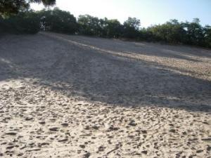 Zand in je schoenen!