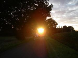 Verblindend zonnetje!