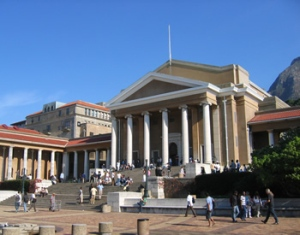 Jameson Plaza. Upper Campus. University of Cape Town