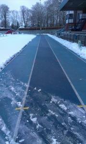 sprintlanen bijna schoon!