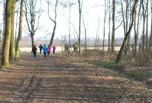 Na 6 km richting begrazingsgebied