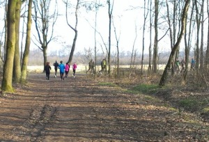 Na 6 km richting begrazingsgebied