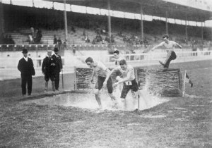 Zo ging dat in 1908. Foto Wikimedia Commons
