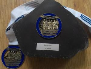 """Zeeuwse Kustmarathon 4'06'38"""" 1ste plaats 65+"""