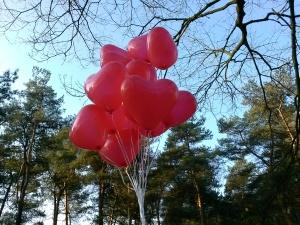 Valentijnsballonnen