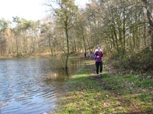 Na 10 km probleem van iets ander orde. Hoe houd ik mijn voeten droog!